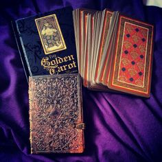 Golden tarrot visconti-sforza deck. Tarocchi d'oro. #tarocchi #tarrots #magic #deck