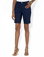 Brands   Shorts   Cotton Poplin Cargo Shorts   Lord and Taylor