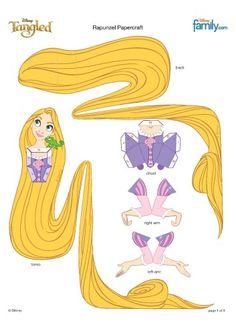 Rapunzel & every other Disney Princess - JPGs saved. Disney Rapunzel, Tangled Rapunzel, Princess Rapunzel, Disney Princess Party, Disney Diy, Disney Crafts, Deco Disney, Cinderella Party, Rapunzel Birthday Party