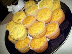 Lemon Poppy Seed Muffin  Stir 2 tbsp of Poppy Seed and 1 tbsp of Lemon Extract into 1 package yellow cake mix. Prepare and bake according to package directions for cupcakes. Enjoy!