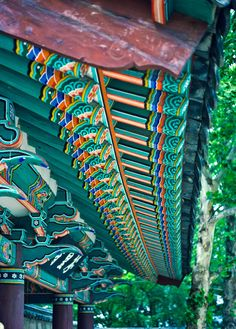 Temple Rafters | Korea