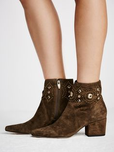 Sigerson Morrison Cailyn Heeled Boot at Free People Clothing Boutique