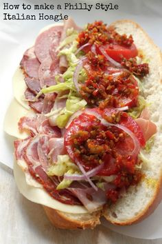 The Best Philly Style Italian Hoagies - Baker By Nature