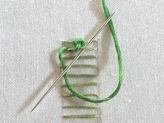 Sarah Whittle - Contemporary Embroidery Artist: Raised Chain Stitch