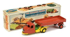 Crescent Toys No.1272 Scammell Scarab Truck And Trailer | Vectis Toy Auctions