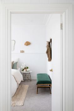 Bonnie's Dream Home - Guest Cottage Bedroom Asian Home Decor, Cheap Home Decor, Small Space Design, Small Spaces, Work Spaces, Home Decoracion, Coastal Bedrooms, Home Decor Bedroom, Bedroom Inspo