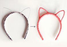 DIY Cat Headband