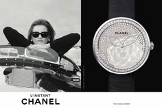 L'Instant #Chanel #watch #campaign