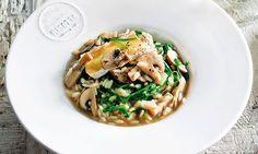 Para os apreciadores de risotto, esta receita de risotto de cogumelos portobello…