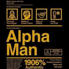 Fraternity Gifts, Sorority And Fraternity, Alpha Kappa Alpha Sorority, Delta Sigma Theta, Greek Brothers, Greek Life, Greek Week, Black Fraternities, Divine Nine