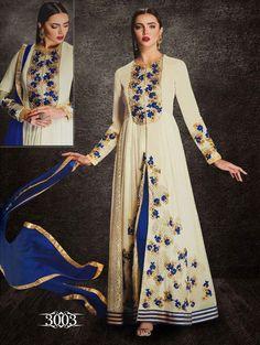 New Anarkali Kameez Designer Suit Dress Pakistani Ethnic Bollywood Salwar Indian