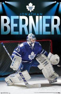 Jonathan Bernier Toronto Maple Leafs Poster - 56 x 86 cm Ice Hockey Players, Hockey Goalie, Nhl Players, Hockey Teams, Hockey Stuff, Toronto Maple Leafs Wallpaper, Hockey Live, Maple Leafs Hockey, Hockey World