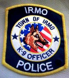 irmo police k9 sc patch