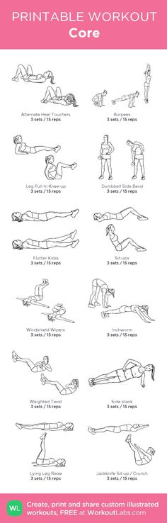 Both guys and gals strive to have a strong toned midsection but very few of them achieve it. Try these core workout! justthreadinghair.com