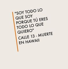 ♫ Calle 13 - Muerte en Hawaii ♪