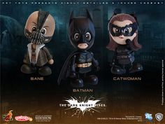 The Dark Knight Rises Vinyl Collectible - Hot Toys - SideshowCollectibles.com