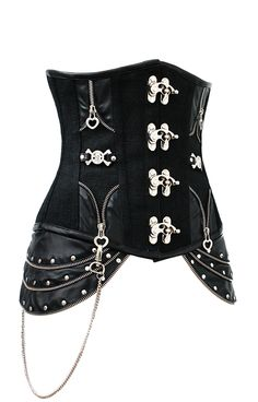 The Violet Vixen - Clockwork Hipster Midnight Black Corset, $153.00 (http://thevioletvixen.com/corsets/clockwork-hipster-midnight-black-corset/)