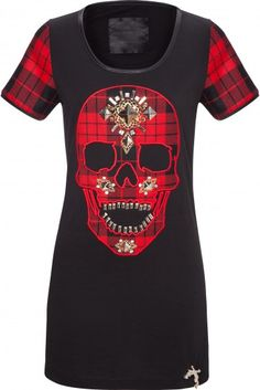 'Keep Wild' Skull t-shirt dress ~ Philipp Plein