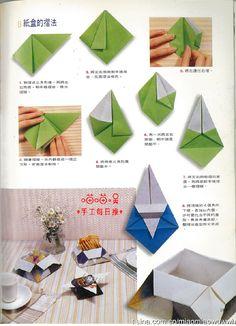 2011年3月31日-纸盒-教程-摘自《生活美劳DI... 来自喵喵吴 - 微博