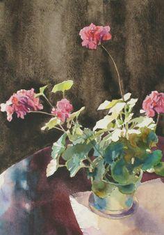 Oleg Kozak, Watercolorist