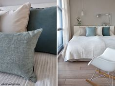 Menos es mas, un dormitorio en colores neutros