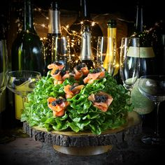 Ringing in a Dazzling and Delicious New Year! - Taste With The Eyes British Cheese, New Year's Eve Appetizers, New Year's Food, Cheese Toast, Dried Apricots, Smoked Salmon, Food Presentation, Tasty Dishes, Clean Eating Snacks