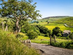 ***Upper Swaledale, Keld (North Yorkshire, England) by Bob Radlinski c.