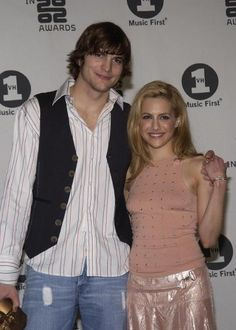 Ashton Kutcher & Brittany Murphy. I think they would've been the cutest couple.... So sorry Brittany isn't with us anymore, I really like her.