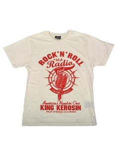 Rock'n'Roll Radio - Trend Shirts - Men - King Kerosin