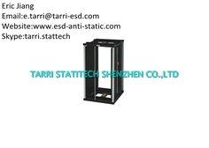 Screw Anti Static ESD Storage PCB Metal Magazine Rack 2.8mm Depth