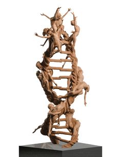 double helix structure in sculpture - Google Search