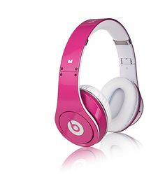 Beats by Dre--YES I would like this in pink!