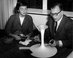 Florence Knoll and Eero #Saarinen