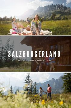 Alpine Summer in SalzburgerLand is not only the traditional mountain pasture cultivation but also a holiday service for families, hikers, bikers and culinary connoisseurs. Holiday Service, Summer Bucket Lists, Never Stop Exploring, Austria, Traditional, Explore, Adventure, Movie Posters, Link