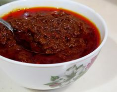 Sambal Tumis- Very Important Belachan Chilli Paste