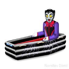Inflatable Vampire and Coffin Cooler  107cm x 76cm