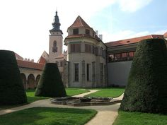 Telc, Czech Republic Czech Republic, Travelling, Europe, Explore, Mansions, House Styles, Manor Houses, Villas, Mansion