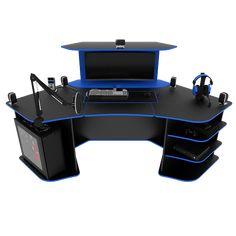 28 best corner gaming desk images in 2019 office home woodworking rh pinterest com