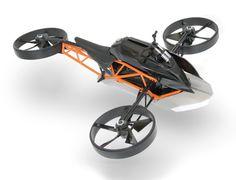 Concept flying 'bike'  KTM Ascender  That's something I'd like a blast on!