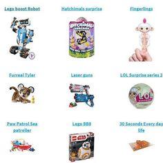 Populairste #speelgoed van dit moment op Listi.nl. Er worden volop #verlanglijstjes aangemaakt. Wat willen #kinderen dit jaar met #sinterklaas ?#legoboost #hatchimals #fingerlings #lasergun #lolsurprise #pawpatrol #legobb8 #30seconds