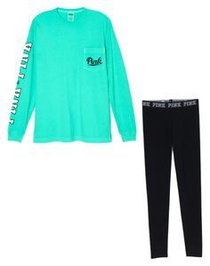 """""""Perfect sporty outfit"""" by mackennasaylor on Polyvore featuring Victoria's Secret"""
