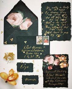 #russia  // How amazing are these hand painted wedding invites on the blog today?! See more from @olgasiyanko @wed_kiosque @flo_kiosque @sova1205 @nastasja.ch.shop @karina_galstyan_fashion @rocketmice @celebrateit_rent @rent_kiosque @skornyakova_design @my_morningglory @retrogarag  #vintagewedding #floralprint #weddinginvitations