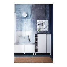 IKEA - MACKAPÄR, Storage unit, Ideal in smaller areas since the sliding doors save space.