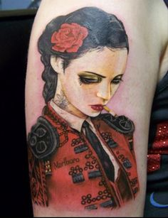 Artwork by Brian M. Viveros.  Tattoo by David Corden