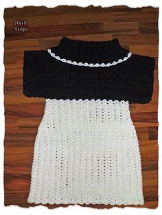 Häkelkleid Anleitung kostenlos, Rollkragenkleid, crochet dress, free pattern