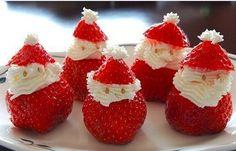 Kerstman, aardbei, hapjes , kerst.jpg