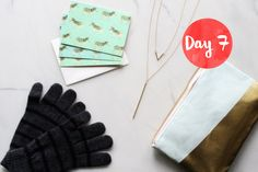 Enter to win a chic gift set with a zip-pouch, cards, necklace and gloves. The perfect way to stay stylish this winter!