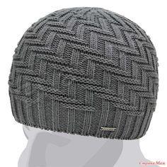 Boa tarde, meu marido me pediu para amarrar um chapéu com isso . Knitting Paterns, Baby Hats Knitting, Knitting Yarn, Hand Knitting, Beanie Knitting Patterns Free, Crochet Mens Scarf, Crochet Cap, Hand Knitted Sweaters, Knitted Hats