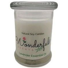 8 oz Soy Candle Hand Poured With Cotton Wick in Glass Status Jar #candles #candle #soycandles #scentedcandles #melts #essentialoils #essentialoil #scents #fragrance #aromas #diffuser #natural #organic #aromatherapy #selfcare #selflove #healthy #gifts #giftsforher #relax #Wellbeing #wellness #HealthTips Soy Wax Candles, Scented Candles, Candle Jars, Essential Oils For Add, Essential Oil Candles, Soy Wax Melts, Aromatherapy, Diffuser, Fragrance