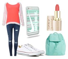 """Untitled #12"" by feebeejeen on Polyvore featuring Miss Selfridge, Sandro, Converse and Vera Bradley"